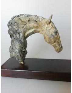 Horse head ivory