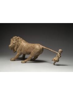 Jeanne et le lion