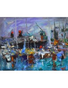 Le Port de Santa Cruz,...