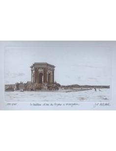Le Peyrou à Montpellier