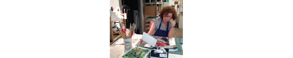 Sylvia Garcia colorist, post-impressionist painter