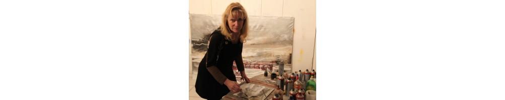 Aline Jansen painter photographer plastic